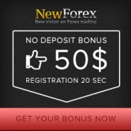 NewForex Broker – 100% Deposit Bonus for Only 1$ Minimum Deposit! 50$ Free Forex Bonus Without Deposit!